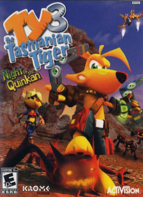 Ty the Tasmanian Tiger 3 Night of the Quinkan pobierz