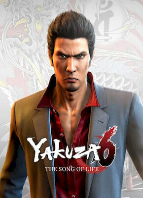Yakuza 6: The Song of Life cover gry pc